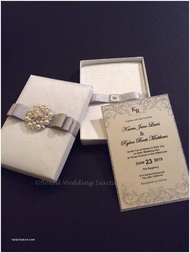 Luxury Boxed Wedding Invitations Wedding Décor How Far Should You Go