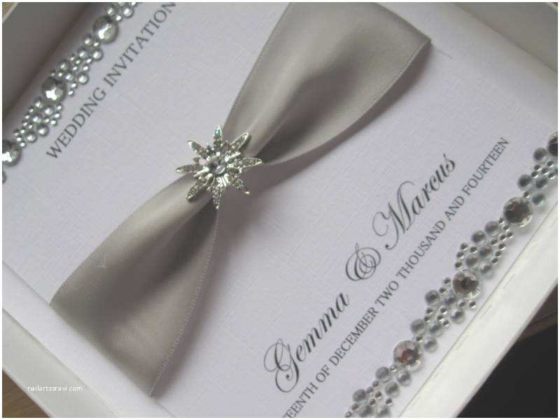 Luxury Wedding Invitations Crystal Wedding Invitation Luxury Wedding Card with