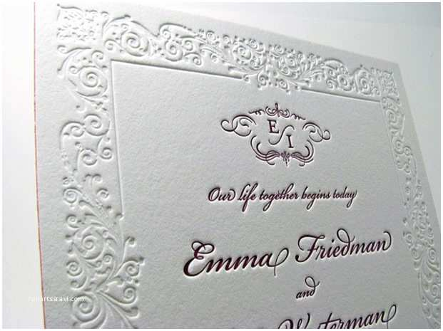 Luxury Wedding Invitations Filigree Border Luxury Wedding Invitations Digby & Rose
