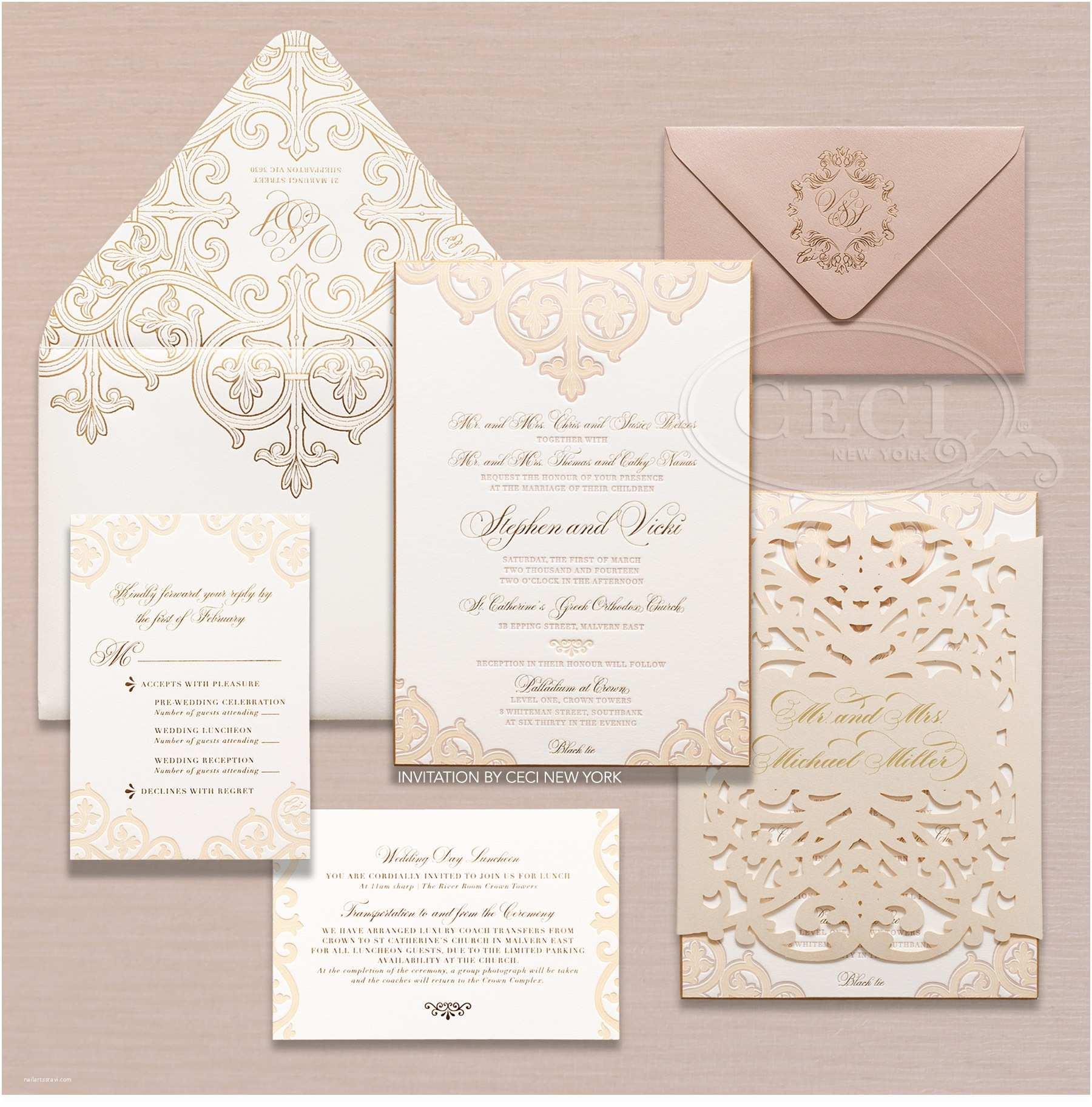 Luxury Wedding Invitations Luxury Wedding Invitations for Elegance Registaz