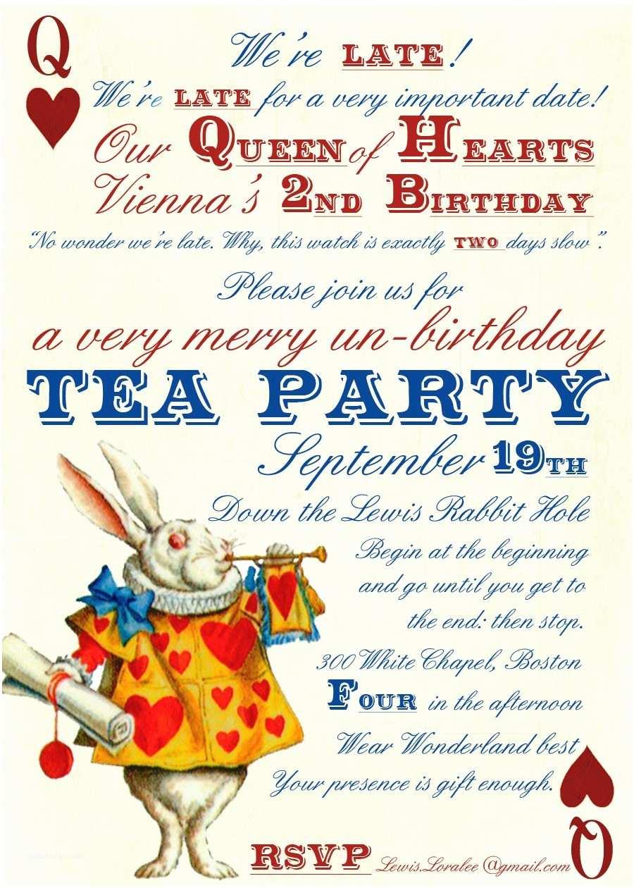 Mad Hatter Tea Party Invitations Tea Quotes Alice In Wonderland Quotesgram