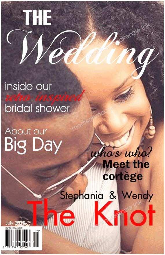 Magazine Wedding Invitation 34 Best Magazine Programs Images On Pinterest
