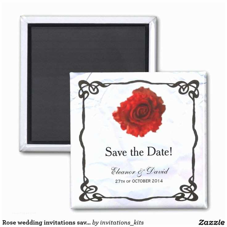 Magnet Wedding Invitations 17 Best Images About Save the Date Ideas On Pinterest
