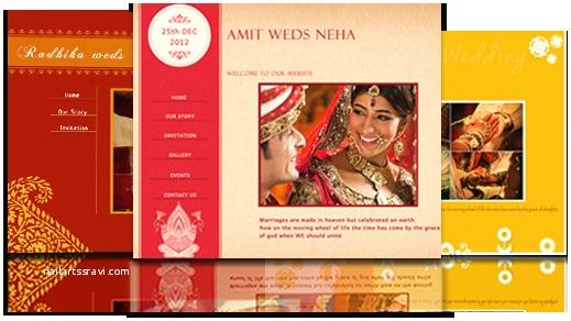 Make Indian Wedding Invitation Cards Online Free Create Free Indian Wedding Site Design Send Online