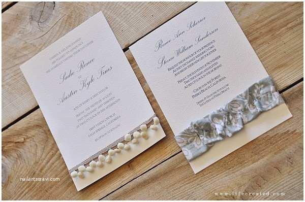 Make My Own Wedding Invitations Diy Wedding Invitations Ideas