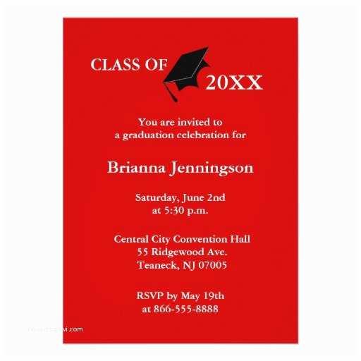 create your own graduation invitation 6