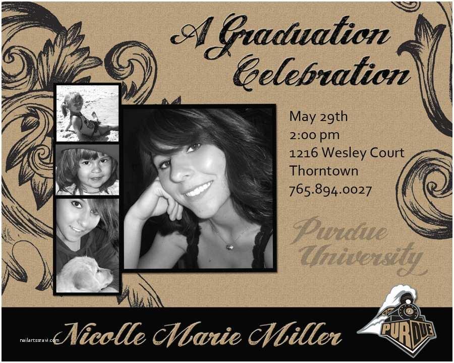 Make Your Own Graduation Invitations Graduation Party Invitations