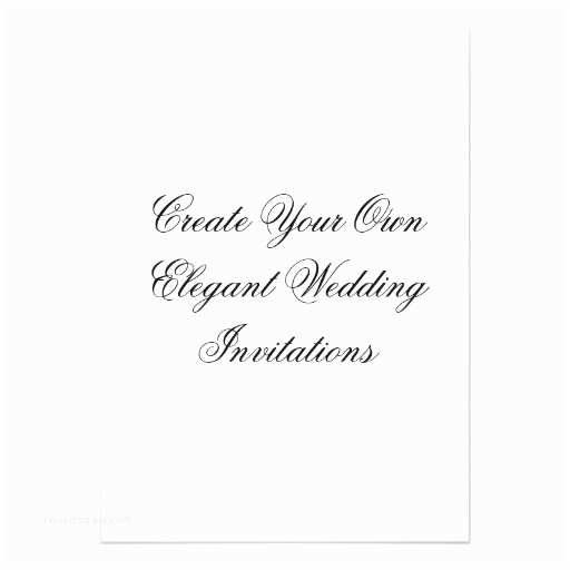 Make Your Own Wedding Invitations Create Your Own Wedding Invitations 13 Cm X 18 Cm