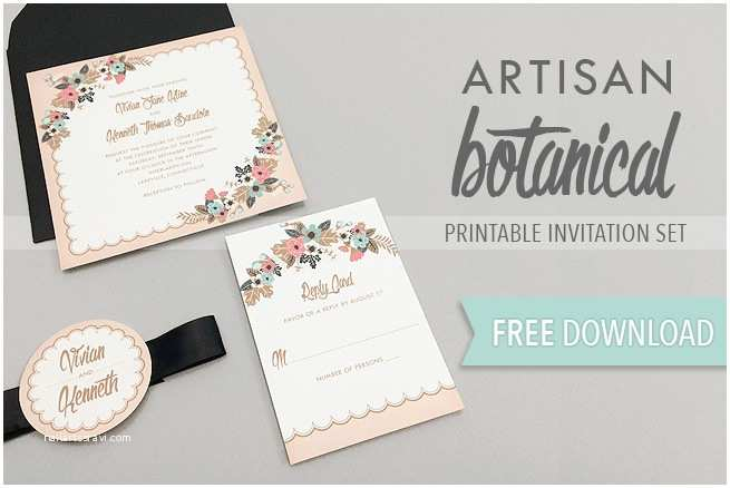 Make Your Own Wedding Invitations Free Free Wedding Invitation Printable Templates