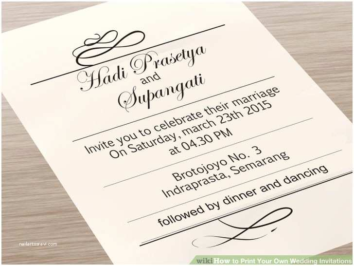 Make Your Own Wedding Invitations software How to Make A Wedding Program Print Template Friday Fab