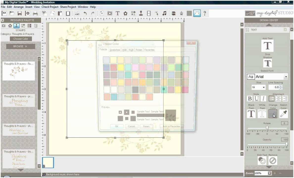 Make Your Own Wedding Invitations software Make Your Own Wedding Invitations with My Digital Studio