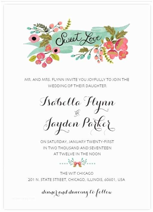 Make Your Own Wedding Invitations Templates Create Your Own Wedding Invitations with these Free