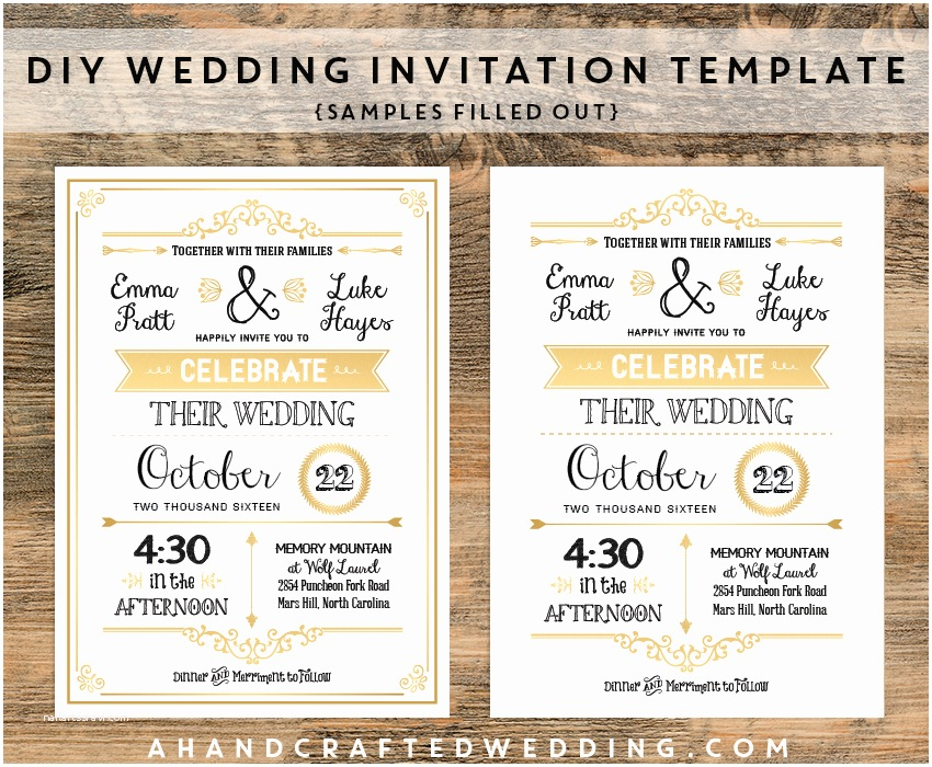 Make Your Own Wedding Invitations Templates top Album Vintage Wedding Invitation Templates