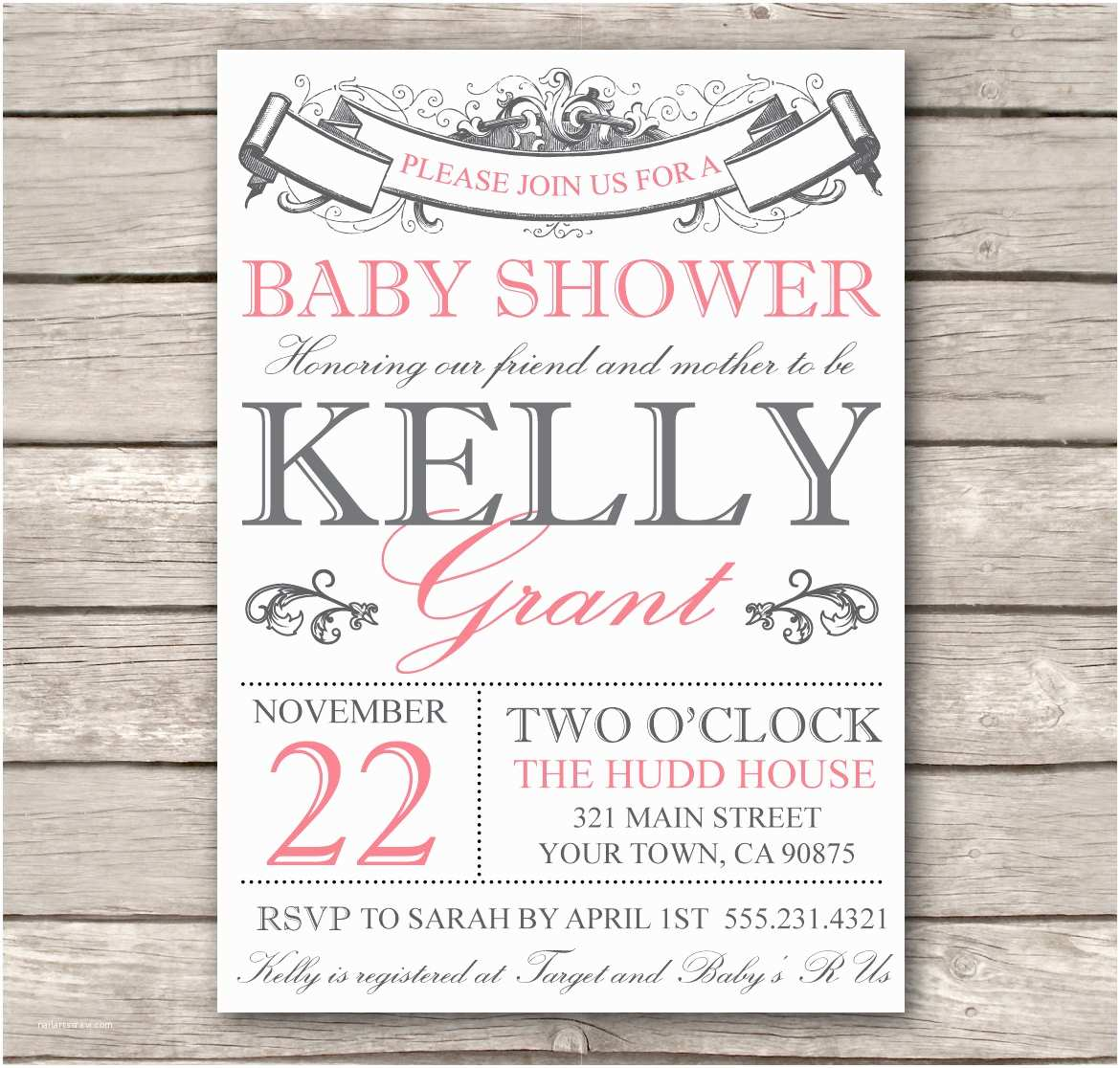 Make Your Own Wedding Shower Invitations Free Free Printable Baby Shower Invitations Templates