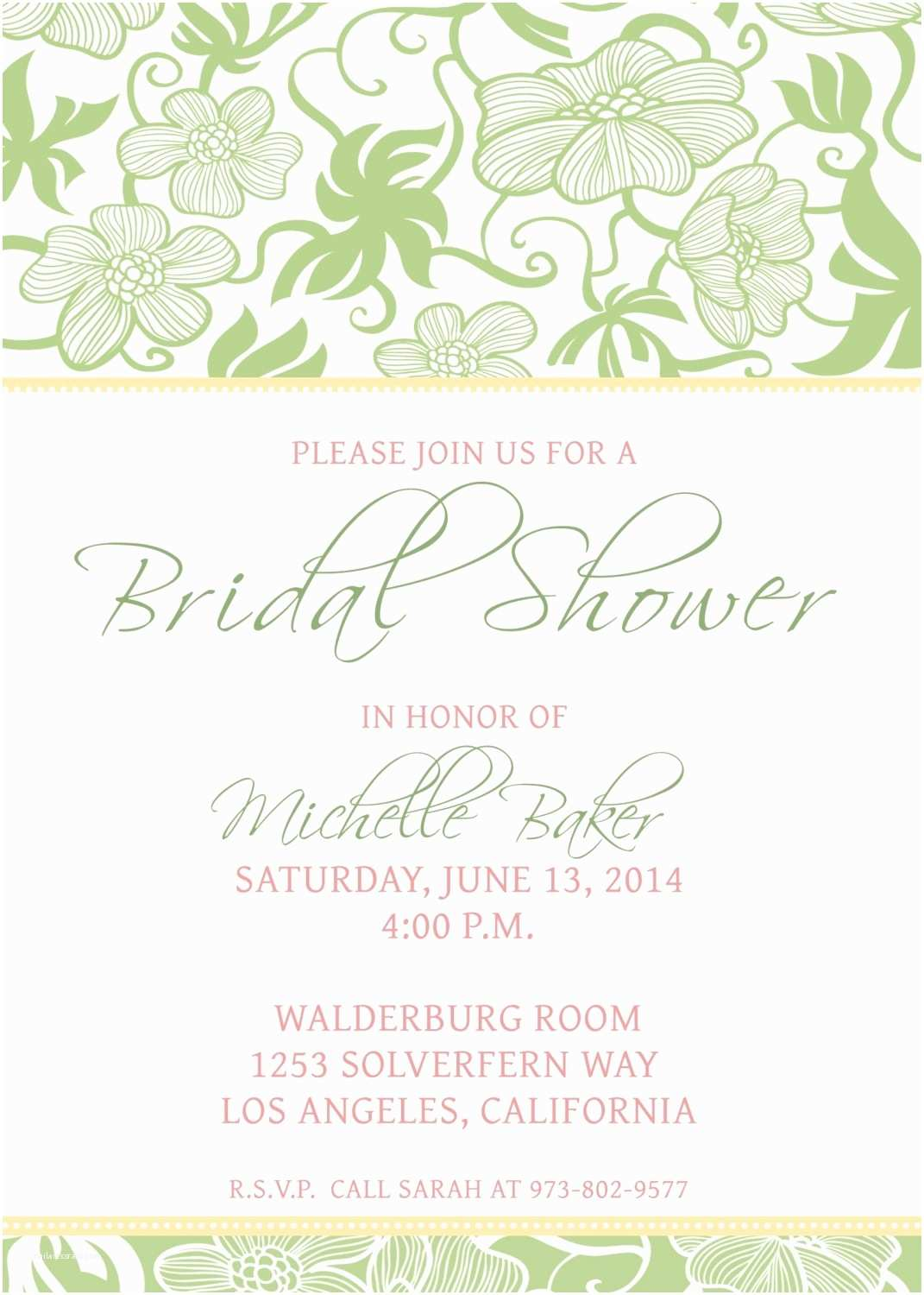 Make Your Own Wedding Shower Invitations Free How to Make Your Own Wedding Invitations Template