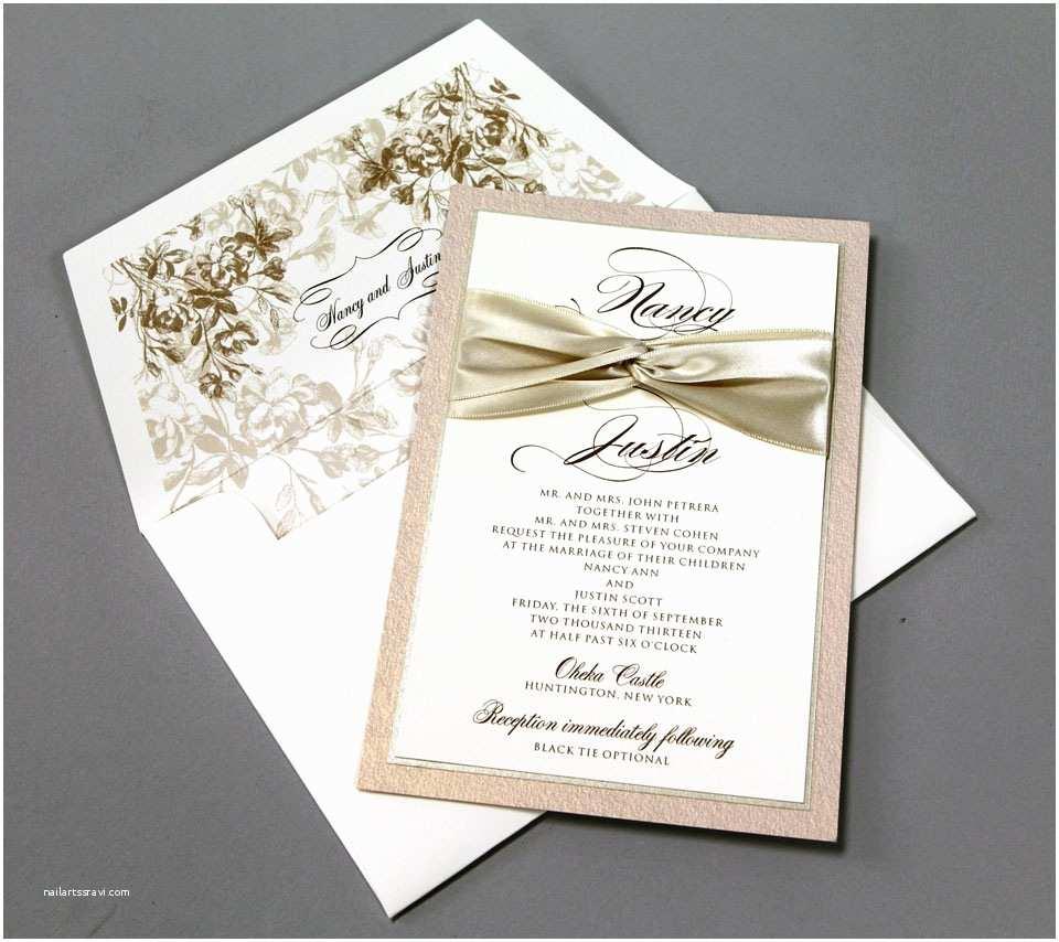 Make Your Wedding Invitations 14 Awe Inspiring Ribbon Wedding Invitations with Great