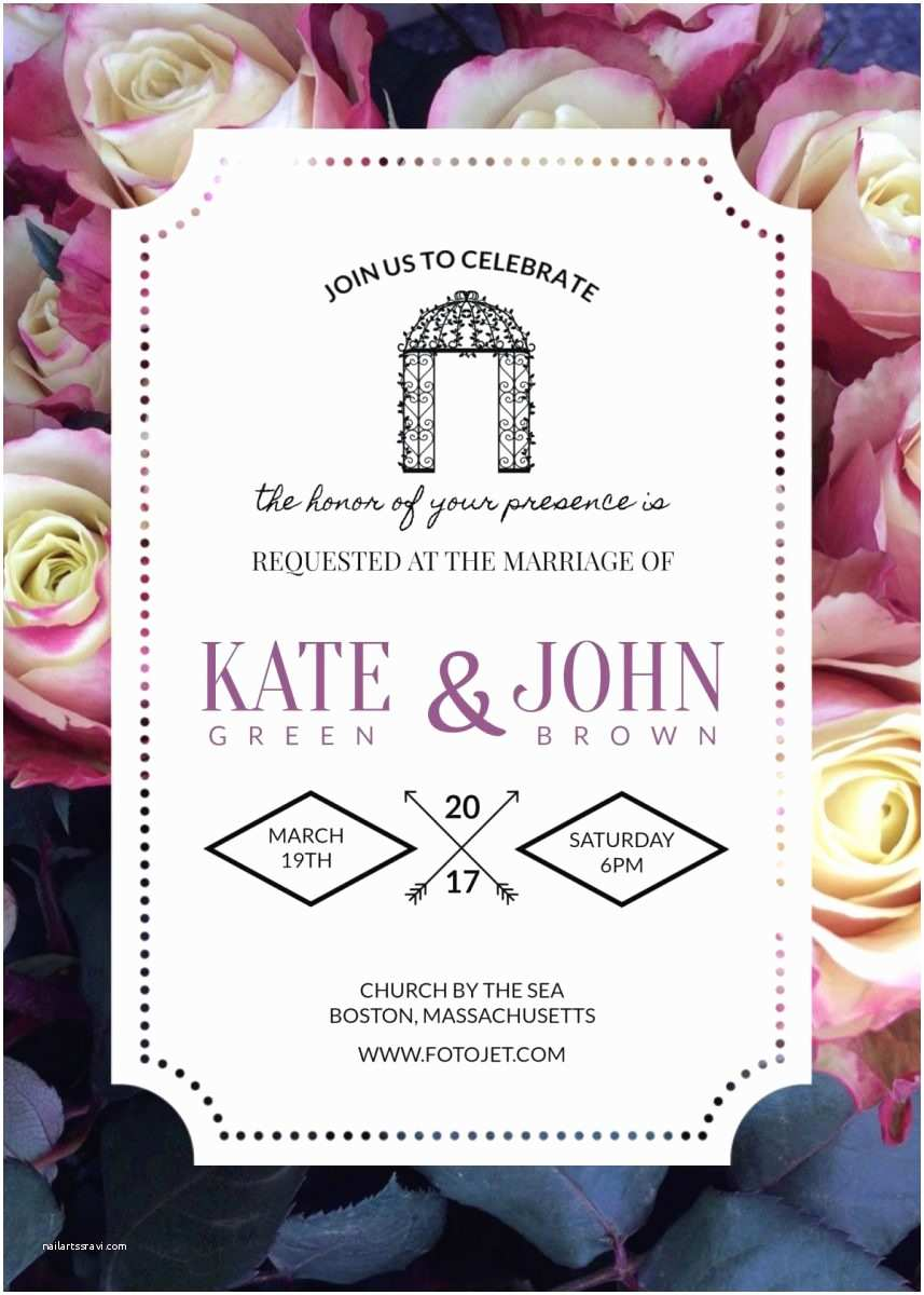 Make Yourself Wedding Invitations 3 Beautiful Free Wedding Invitation Templates that You Can