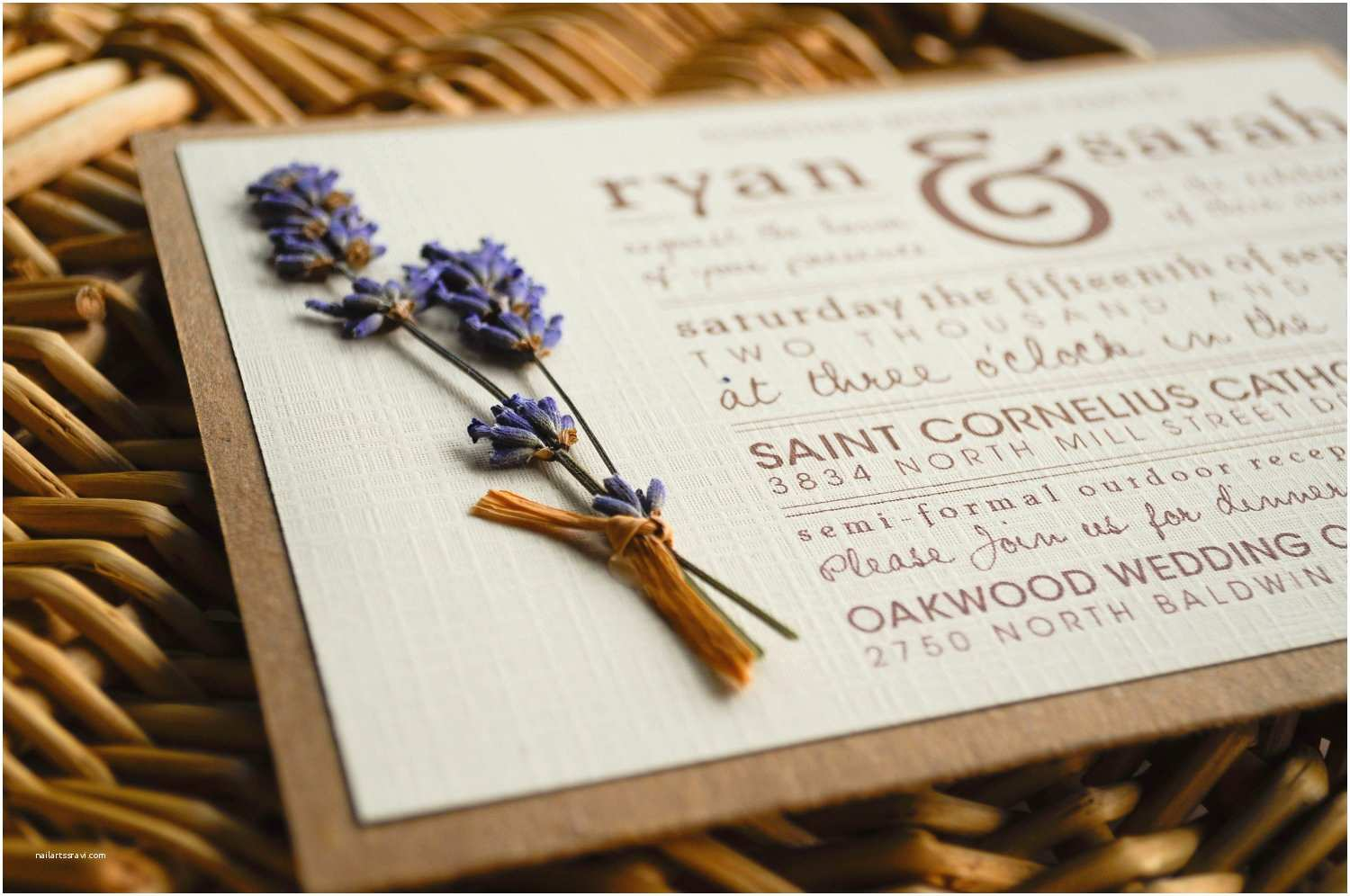 Making Wedding Invitations at Home Best Diy Rustic Wedding Invitations