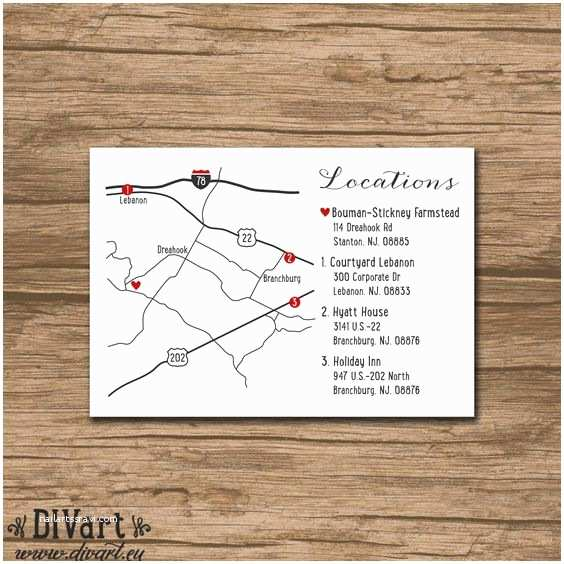 Map Cards for Wedding Invitations Wedding Maps Maps and Invitations On Pinterest