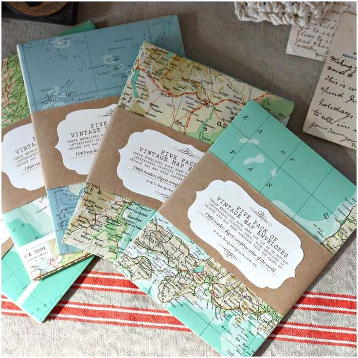 Map Wedding Invitations 608 Best Amazing Packaging Gift Wrap Images On Pinterest