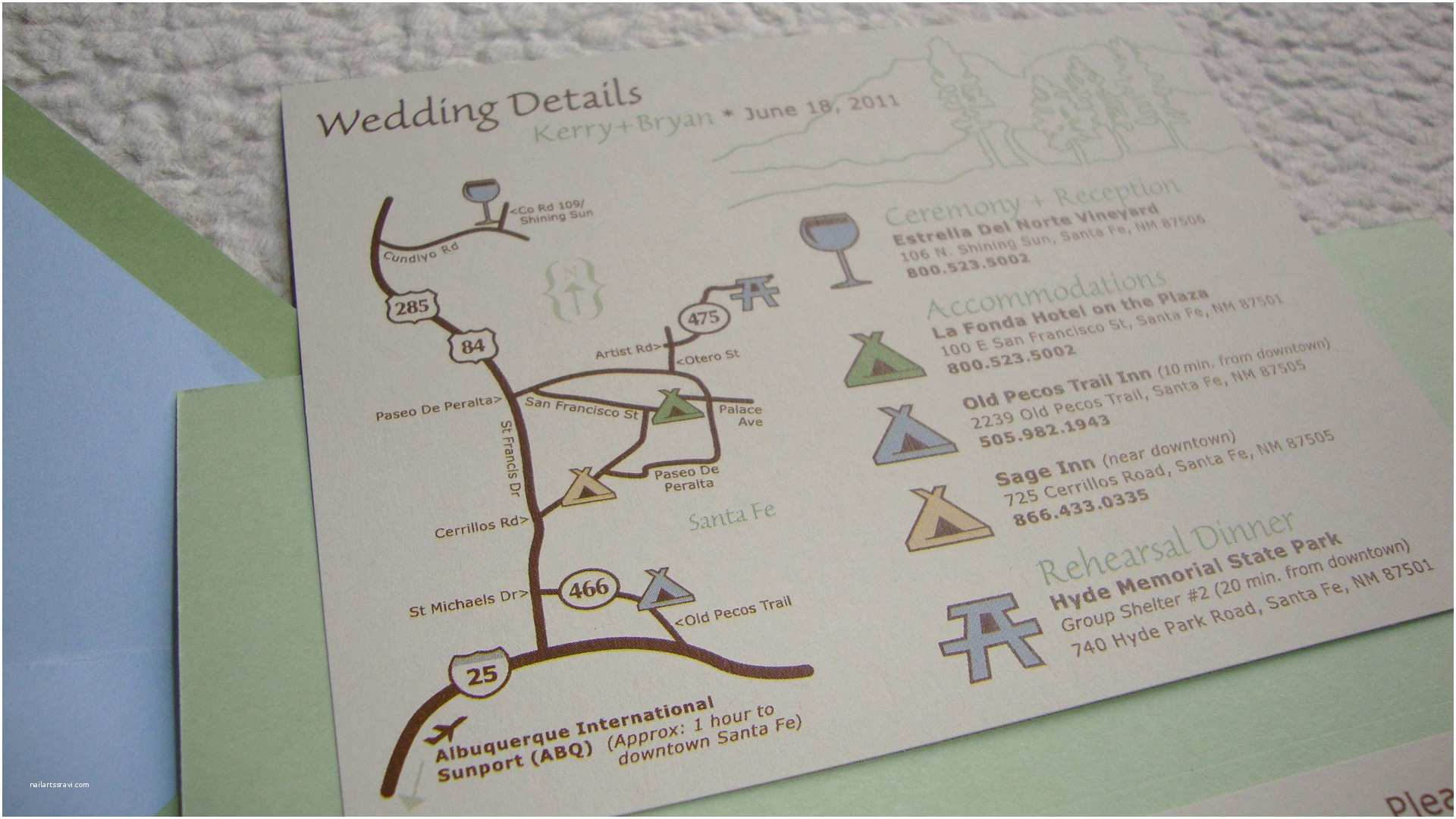 Map Wedding Invitations Wedding Map – Papercake Designs
