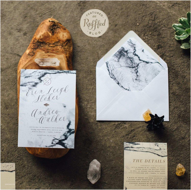 Marble Wedding Invitations Marble Invitations Design Pinterest