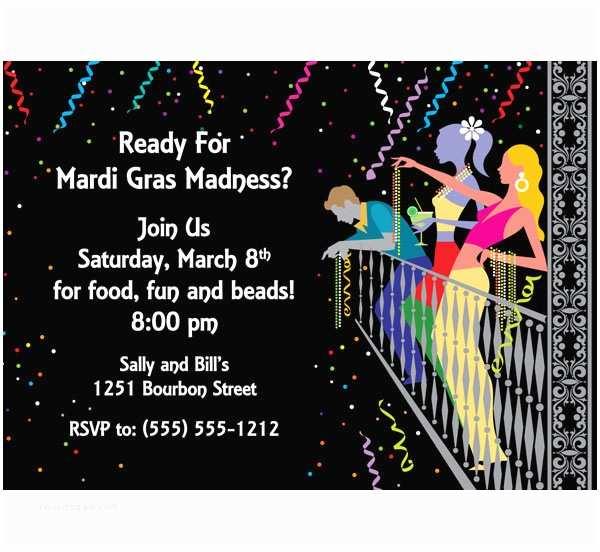 Mardi Gras Birthday Invitations Birthday Invites Best Mardi Gras Party Invitations