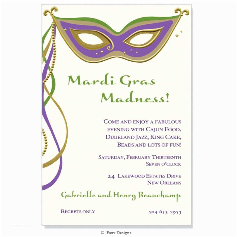 Mardi Gras Birthday Invitations Invitation Templates Mardi Gras Invitations Invitation