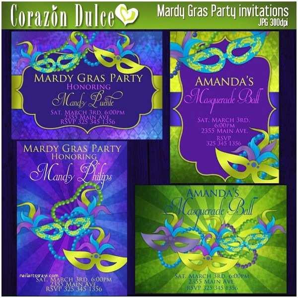 Mardi Gras Party Invitations 17 Best Mardi Gras Images On Pinterest