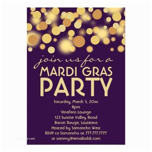 Mardi Gras Party Invitations Mardi Gras Invitations 2700 Mardi Gras Announcements