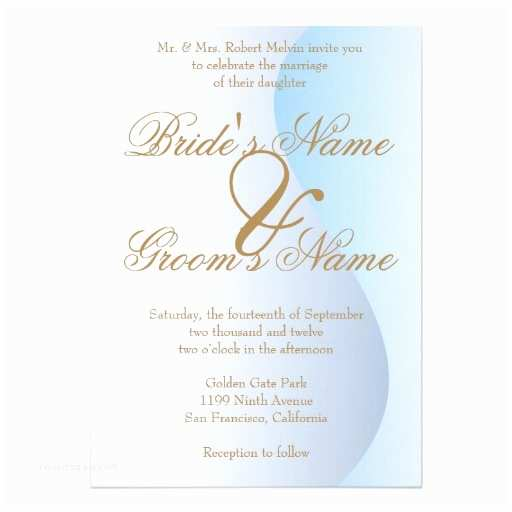 Mardi Gras Wedding Invitations Mardi Gras Blue Wedding Invitation