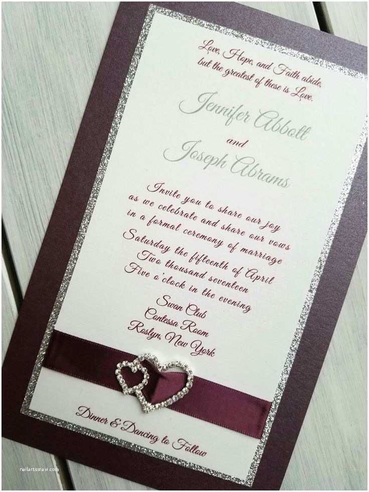 Maroon Wedding Invitations Best 25 Burgundy Silver Wedding Ideas On Pinterest