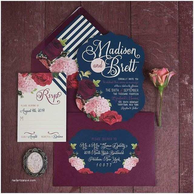Marsala Wedding Invitations Marsala Wedding Invitation Envelopes Cute