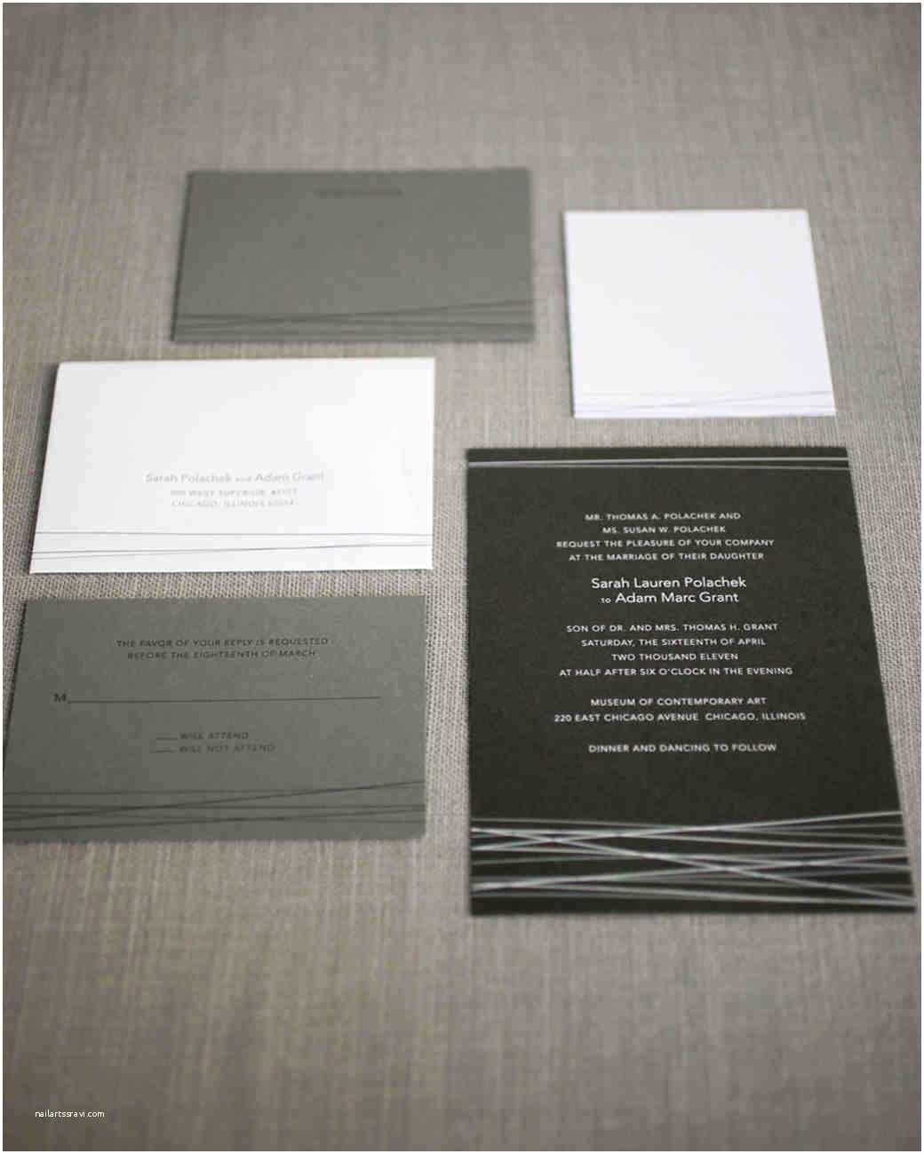 Martha Stewart Wedding  74 Modern Wedding