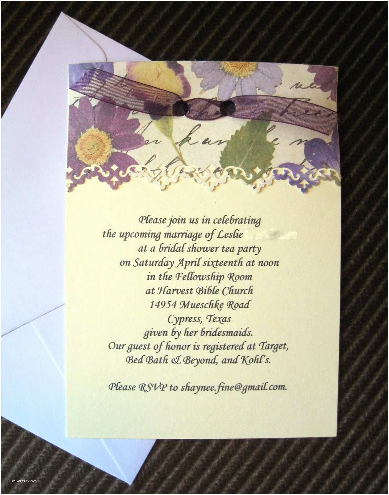 Martha Stewart Wedding Invitations Bridal Shower Invitation Wording Martha Stewart Show with