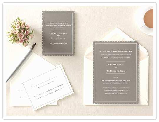Martha Stewart Wedding Invitations Martha Stewart Invitations