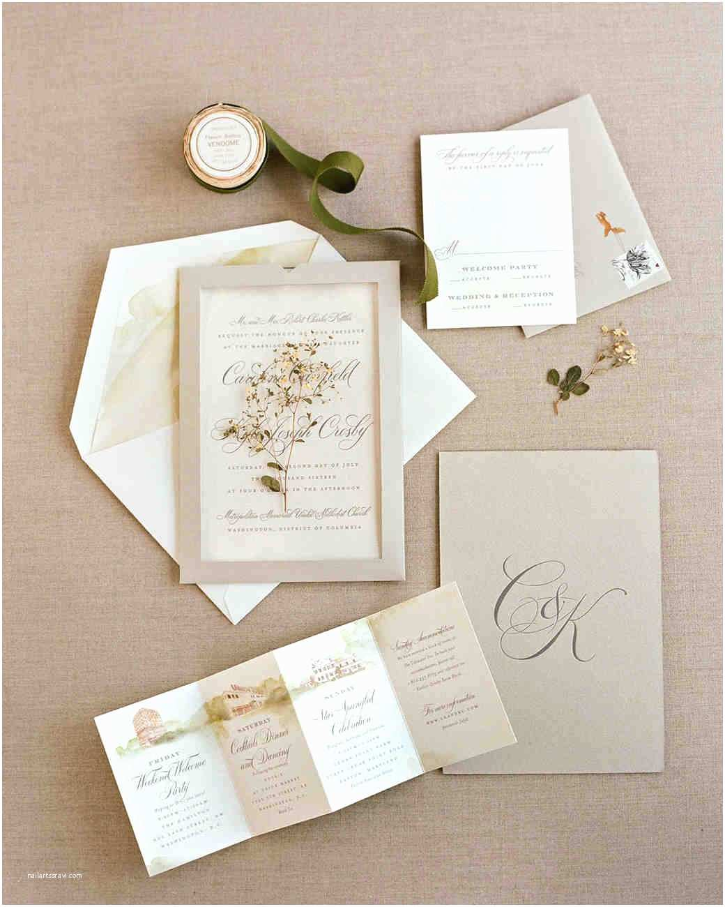 Martha Stewart Wedding Invitations Martha Stewart Wedding Invitation Kit – Mini