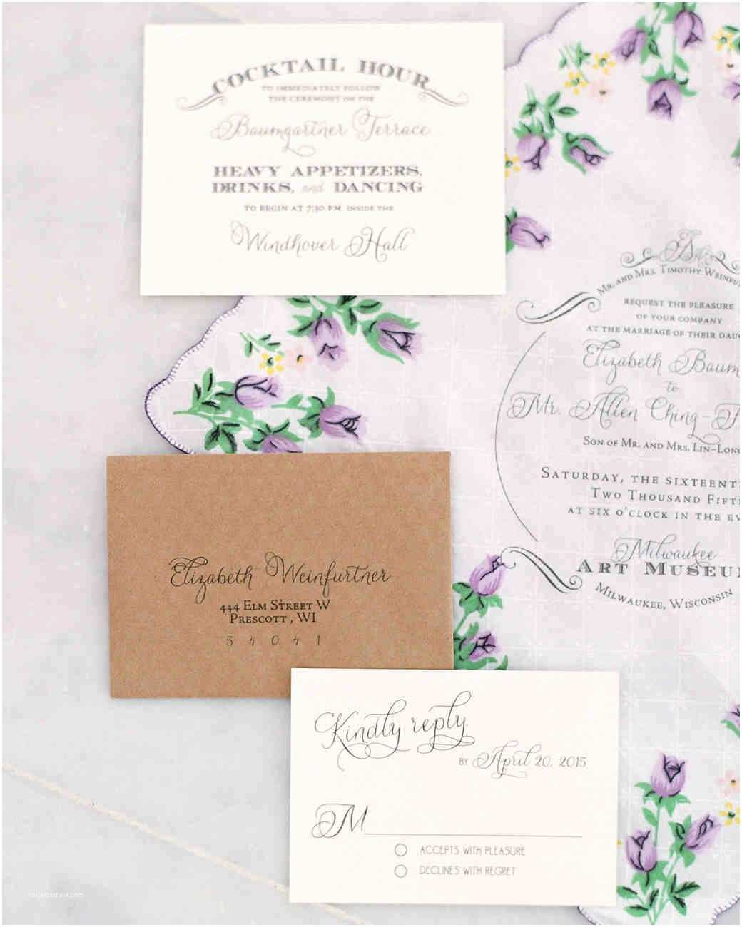 Martha Stewart Wedding Invitations Vintage Wedding Invitations