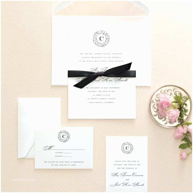 martha stewart wedding invitations