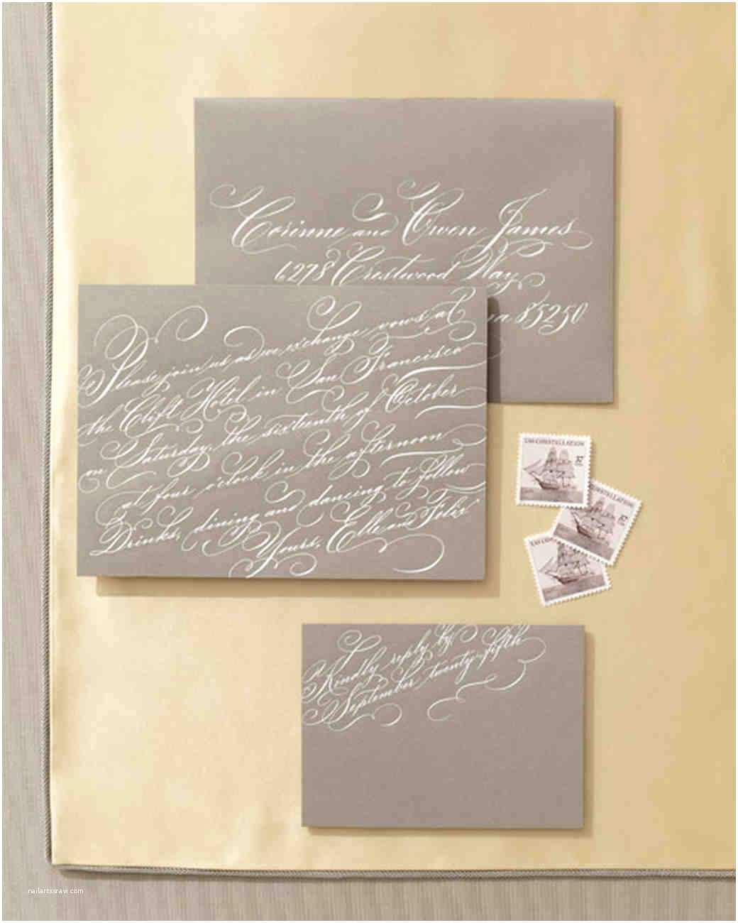 Martha Stewart Wedding Invitations Wedding Invitations Inspired By Our Favorite