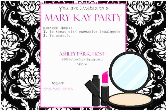 Mary Kay Party Invitations Mary Kay Grand Opening Invitations Templates