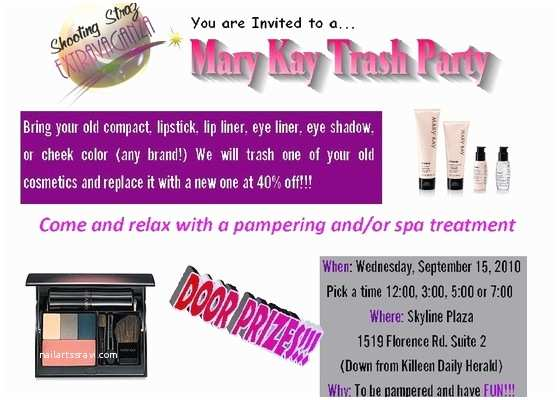 Mary Kay Party Invitations Mary Kay Party Invitations Template Resume Builder