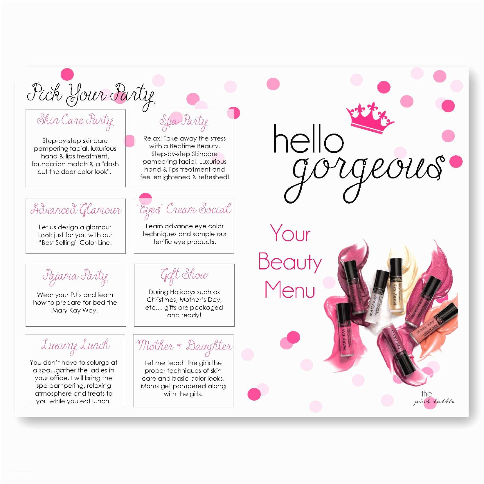Mary Kay Party Invitations Outstanding Mary Kay Invitation Templates Motif Resume