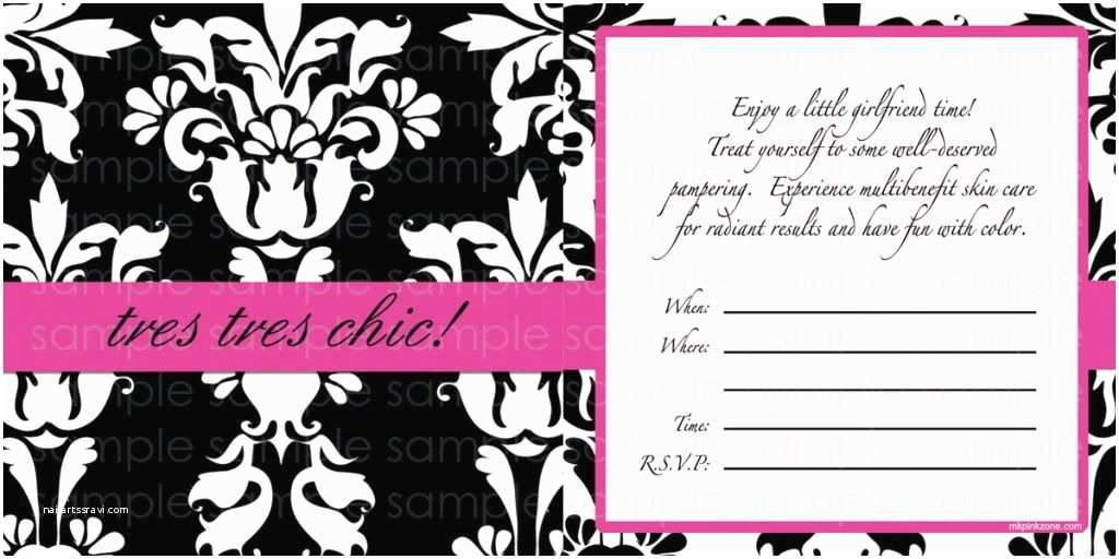 Mary Kay Party Invitations Training Center Warm Chatter Invitations Mary Kay