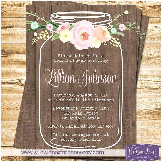 Mason Jar Baby Shower Invitations Best 25 Mason Jar Invitations Ideas On Pinterest