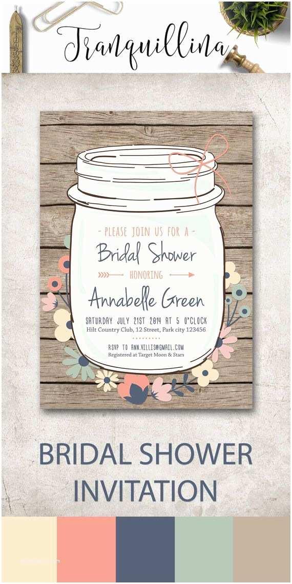 Mason Jar Bridal Shower Invitations Best 25 Mason Jar Flowers Ideas On Pinterest