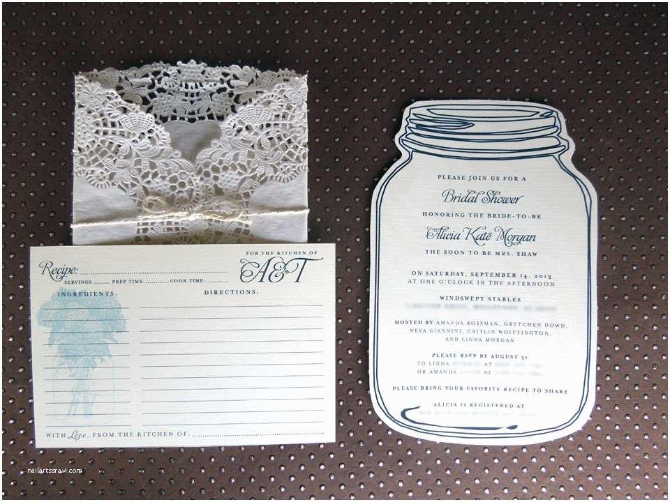 Mason Jar Bridal Shower Invitations Mason Jar Bridal Shower Invitations – Gangcraft