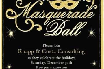 Masquerade Party Invitations 18