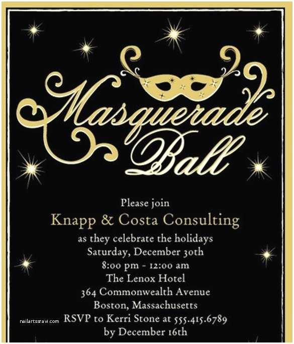 Masquerade Party Invitations 18 Masquerade Invitation Templates – Free Sample Example