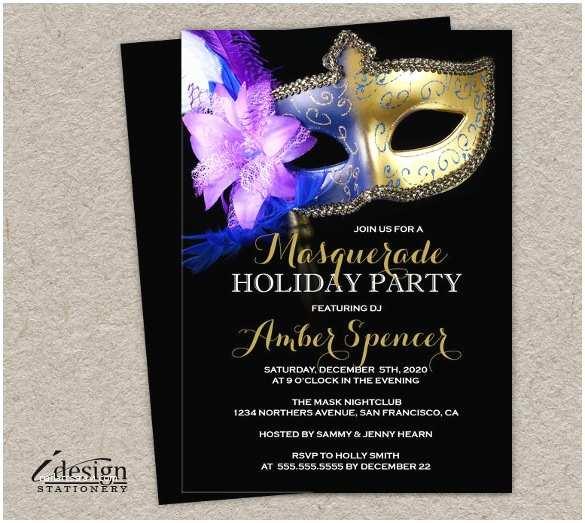 Masquerade Party Invitations Masquerade Invitation Template – 24 Free Psd Vector Eps